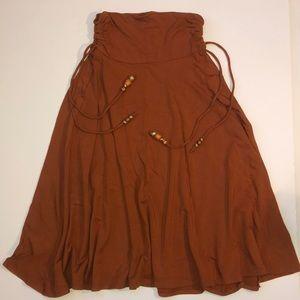 Lotta Stensson midi skirt/ strapless mini size S